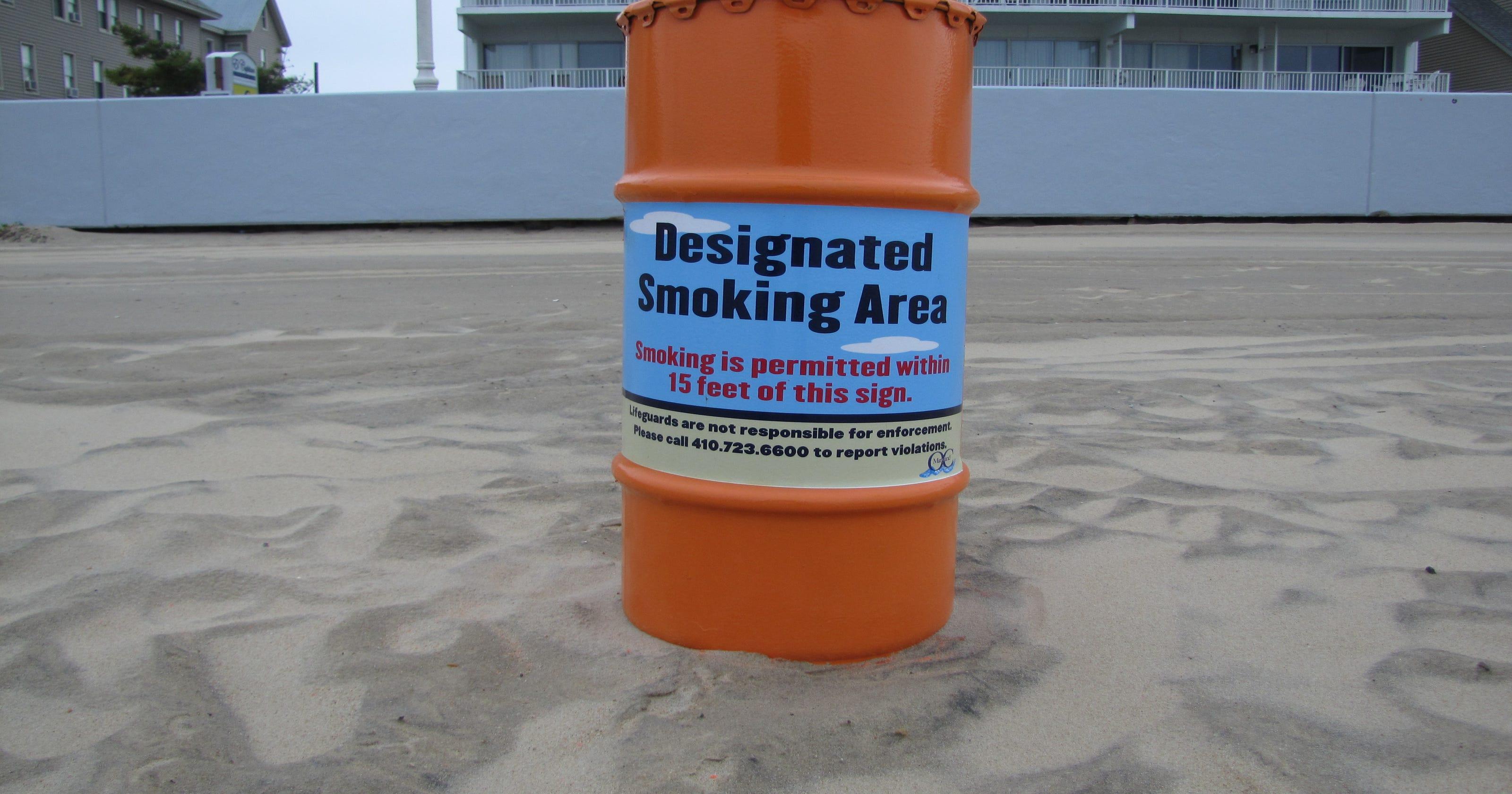 Beach smoking ban begins in Ocean City