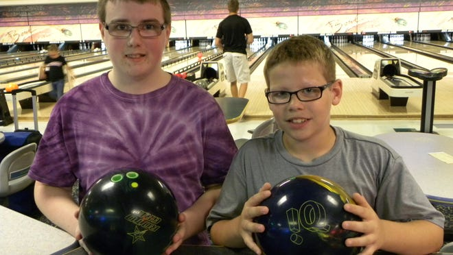 Eighth-grader Adam Switzer and fifth-grader Reece Dunbar, who bowl at Mike Aulby's Arrowhead Bowl, are among four boys from Tippecanoe County who will compete in the Indiana Middle School Bowling championship Saturday in Anderson.