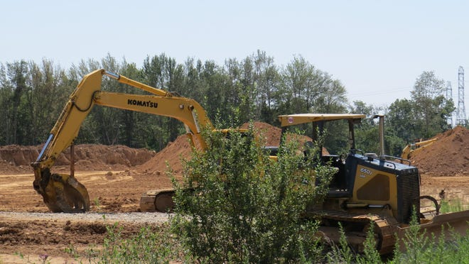 Site work is being done for a planned Wegmans in Hanover on Friday, Aug. 14, 2015.