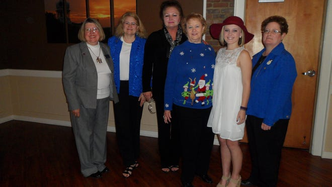 The Republican Women of Rutherford County installed new officers this weekend. Pictured here are Tennessee Federation of Republican Women Area Vice President Mary Stimek, left, local President Andrea Norberg, First Vice President Tina Jones, Second Vice President Elaine Taylor, Secretary Jessica Shaver and Treasurer Felicia Hix.