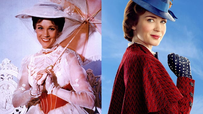 "The 1964 musical fantasy ""Mary Poppins"" airs on Freeform."