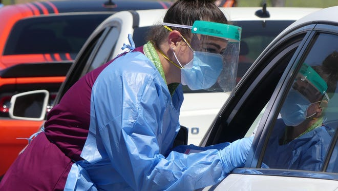 San Bernardino County health officials on Saturday, Aug. 15, 2020, reported 964 new cases of COVID-19 and seven additional virus-related deaths.