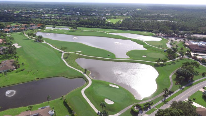 Three holes on the west golf course at Eastpointe Country Club were renovated as part of a multi-million dollar project to update the facilities at the club, which was built in the 1970s. The first phase of the project also includes a 15,300-square-foot recreation center.