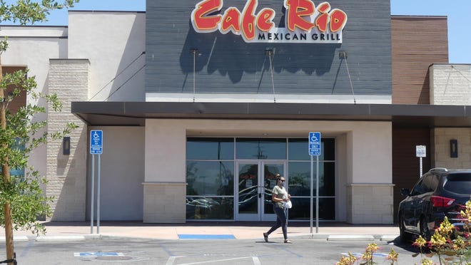 Located on Restaurant Row in Victorville, Cafe Rio Mexican Grill recently closed its doors permanently.
