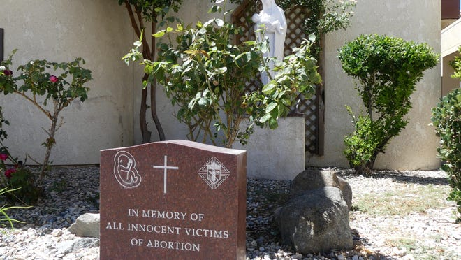 "The Knights of Columbus Council No. 10494 will celebrate the 25th anniversary of its ""Unborn Memorial"" garden during a blood drive scheduled for Sunday, July 19, 2020, at Our Lady of the Desert Catholic Church in Apple Valley."