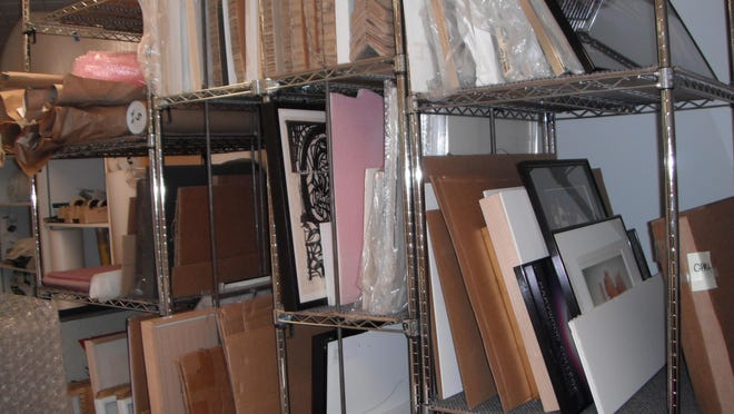 Proper storage will protect your art collection.