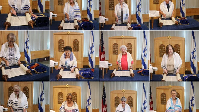 Aged 71 to 100, 12 women from Revere's Jack Satter House facility recently held a joint bat mitzvah ceremony with the help of Brookline's Rabbi Lior Nevo.