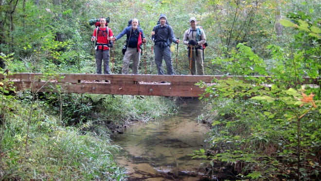 At 26 miles in length, the Wild Azalea Trail can be hiked in as little as a single day for the super ambitious, or a multi-day backpacking trip for those that want to take their time and camp out along the way.