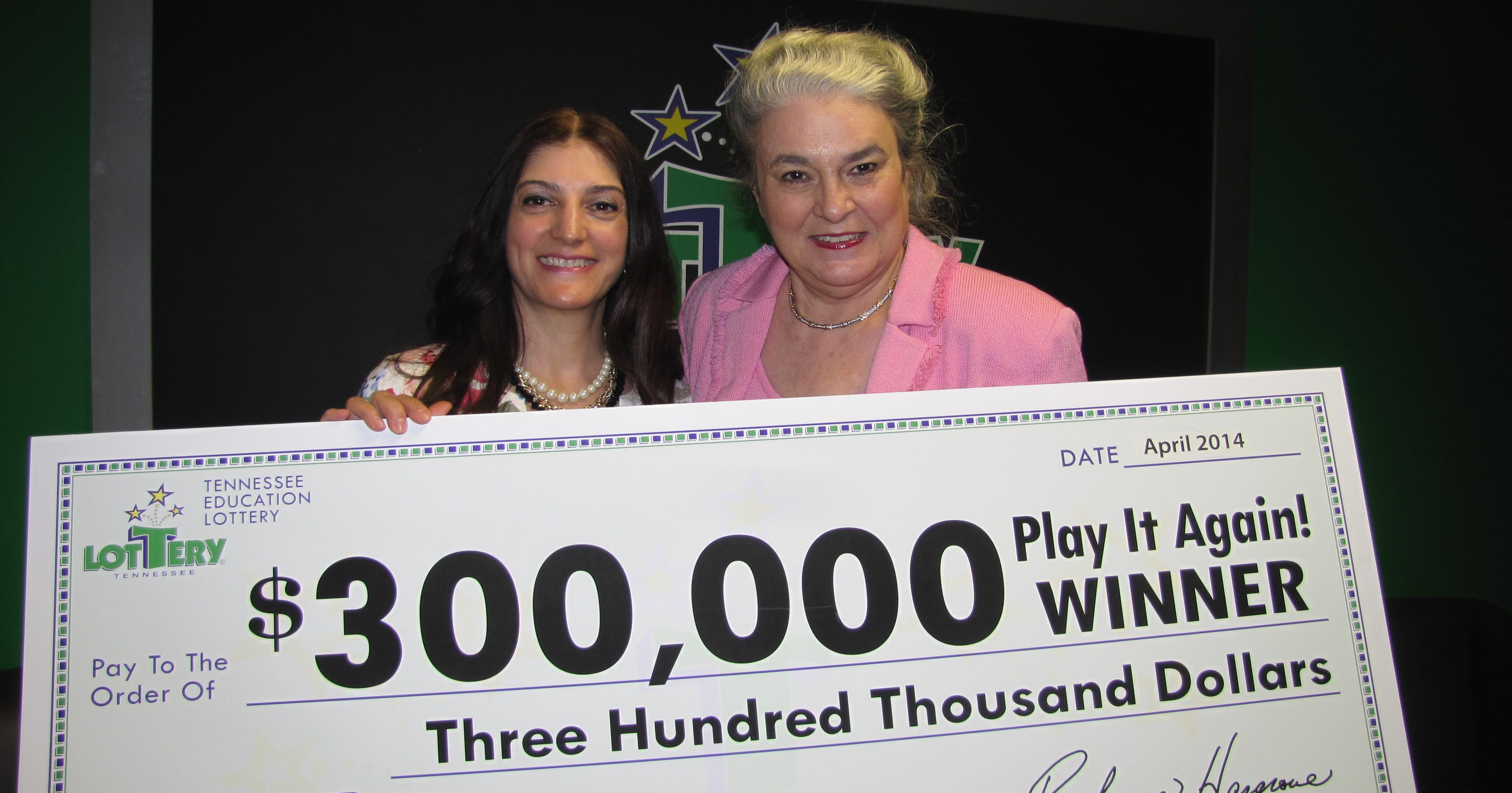 Losing lottery ticket pays off big time