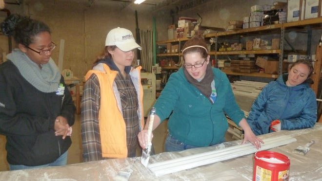 Habitat for Humanity of Greater Newburgh got a boost from students at SUNY New Paltz when they volunteered for the organization earlier this year as part of the school's Alternative Spring Break program.