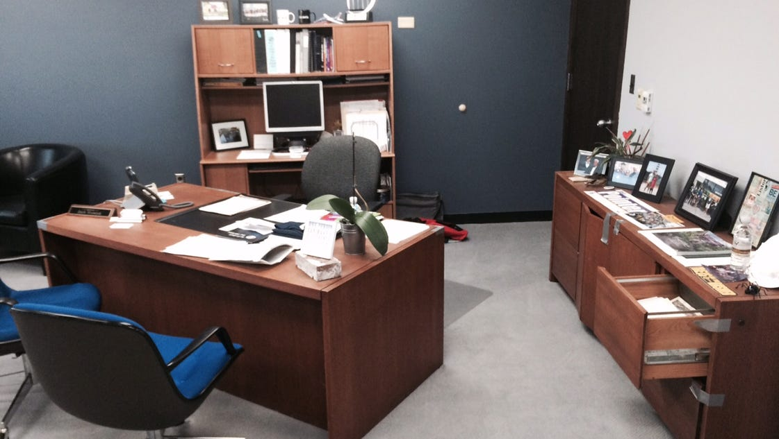 Mayor Seeks New Office Furniture Again