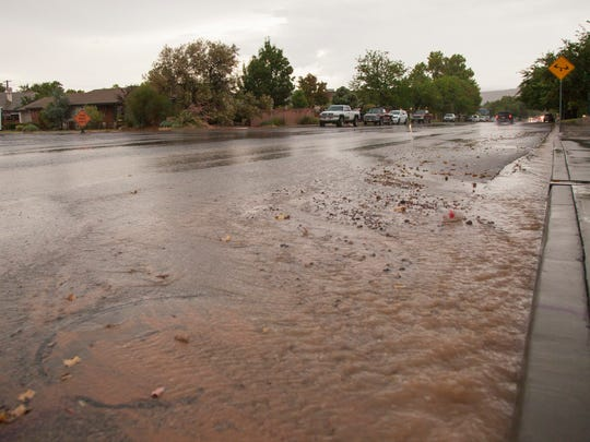 St. George is expected to see a bunch of cloudy days — and likely a decent amount of showers — throughout the next week.