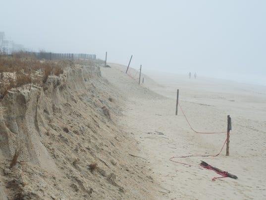 Dune erosion delmarva