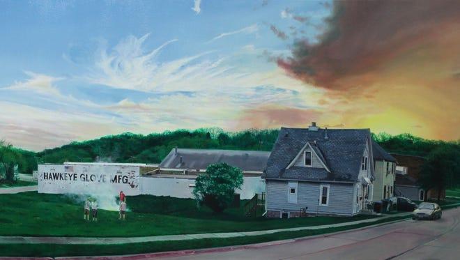 St. John's University alum and artist Nate Burbeck has work on exhibit through Dec. 4 at the university.