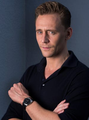 Tom Hiddleston plays country music legend Hank Williams in the biopic, 'I Saw the Light.'