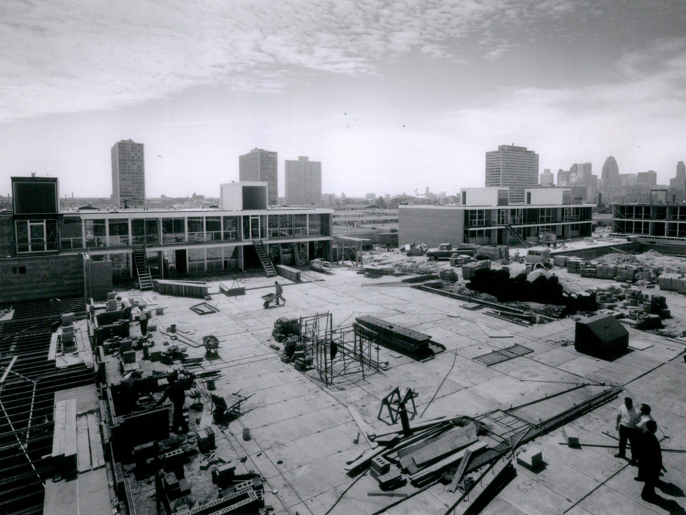 In this photo dated July 24, 1965, shows the Lafayette