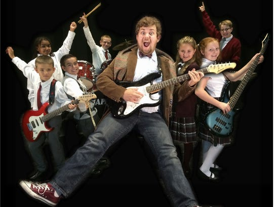 """""""School of Rock"""" opens Sept. 23 at The Belmont Theatre."""