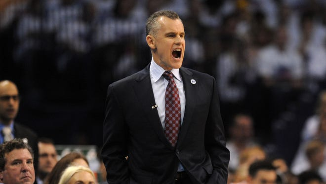 Oklahoma City Thunder head coach Billy Donovan has done a great job in his first season.