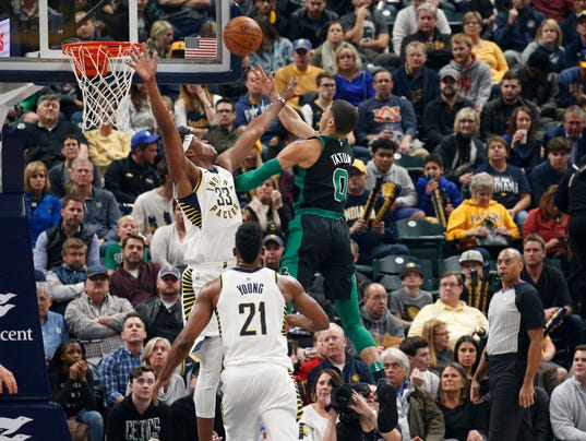 NBA: Boston Celtics at Indiana Pacers