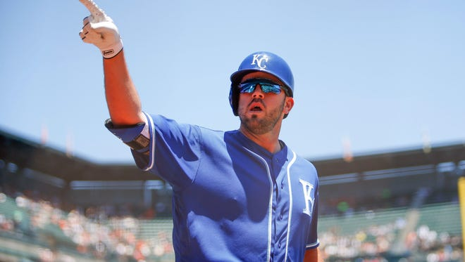 Mike Moustakas set career highs last season in home runs (38), RBI (85) and runs scored (75), but could only get a one-year, $6.5 million deal in free agency.