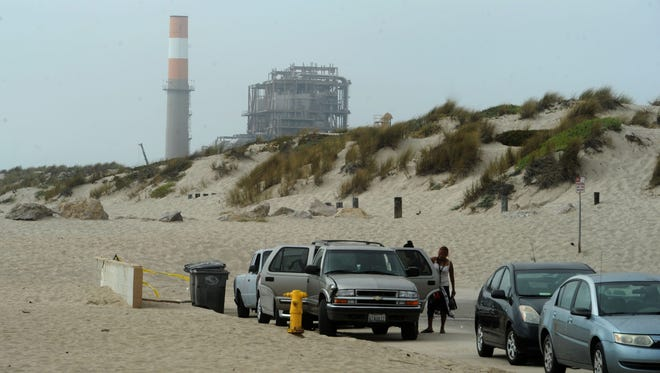 The Mandalay Generating Station is in Oxnard at Mandalay State Beach near Fifth Street and Harbor Boulevard.