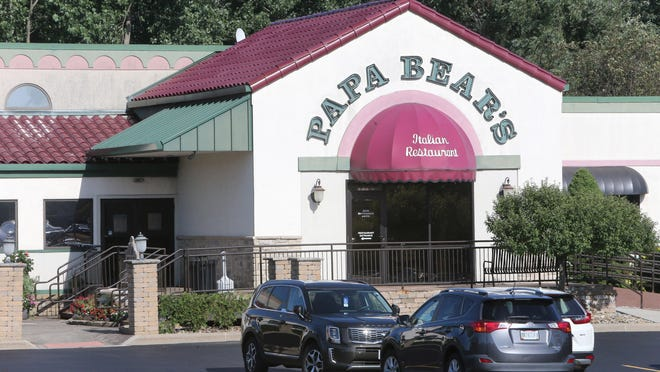 Papa Bears Italian Restaurant in Jackson Township and eight Stark County Pizza Oven restaurants are considered exempt from the state's mask policy.