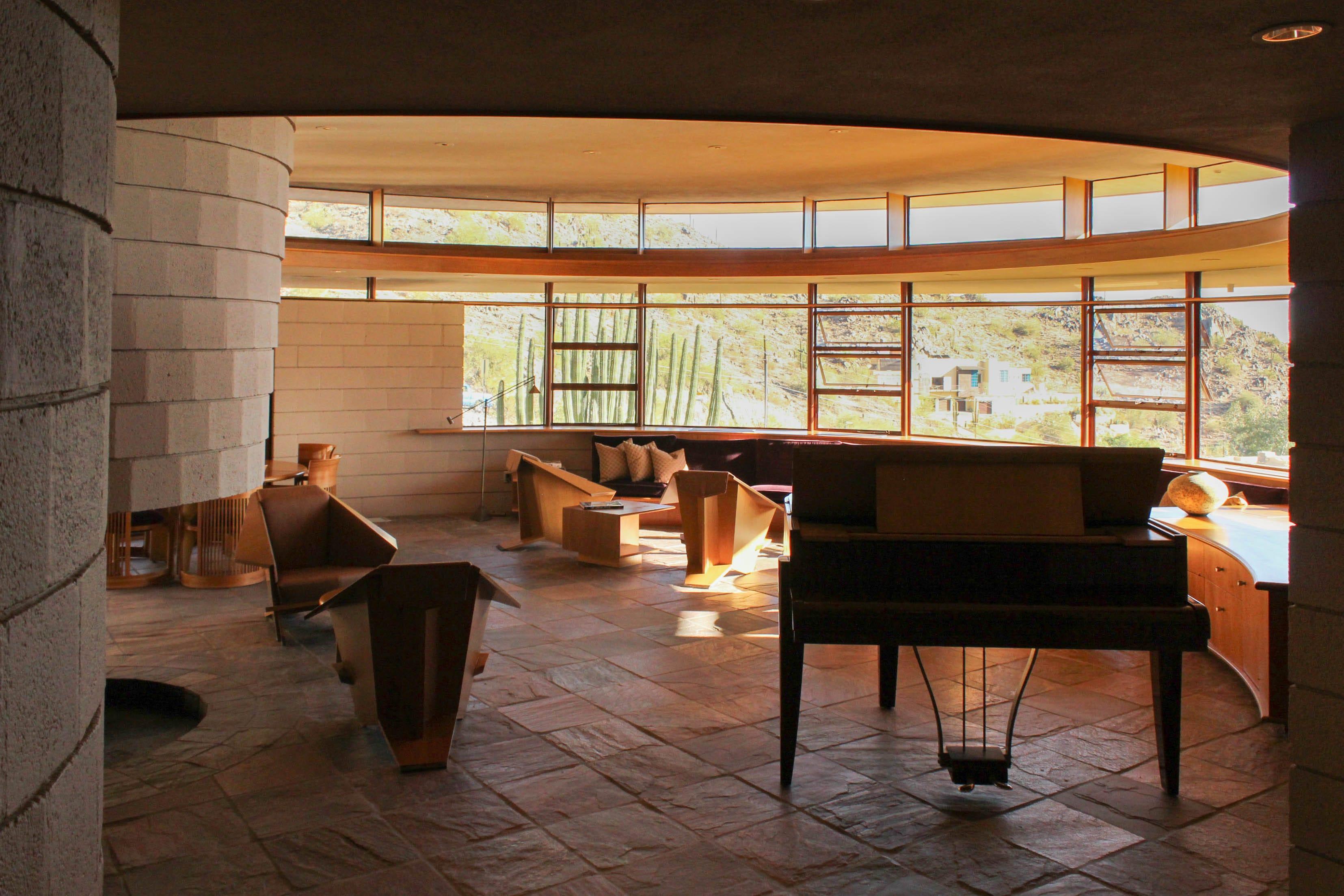 Frank Lloyd Wrightu0027s U0027Norman Lykes Homeu0027 In Phoenix