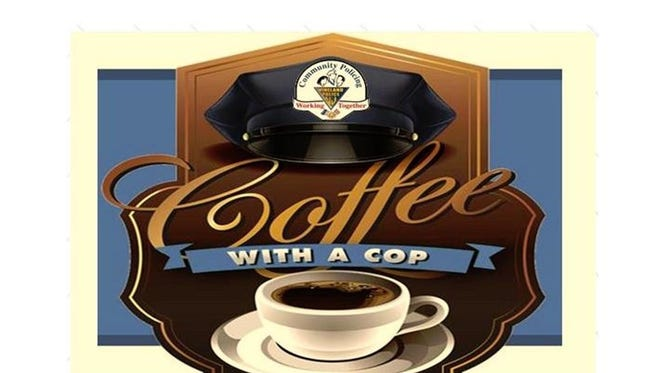 Vineland Police Department will host Coffee with a Cop from 10 a.m. to noon Dec. 19 at Boscov's at Cumberland Mall, 3849 S. Delsea Drive, Vineland.