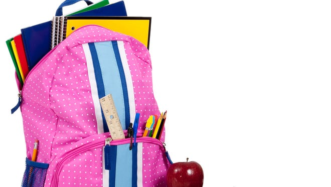 August is a good month to shop for school supplies.