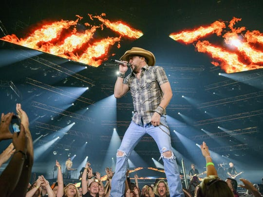 Jason Aldean - Burn It Down Tour 2014