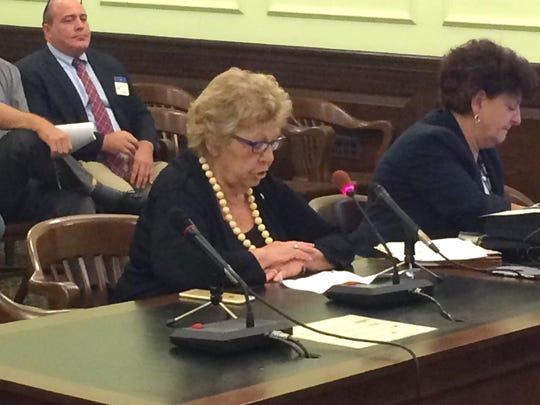 Senate Majority Leader Loretta Weinberg, D-Teaneck,