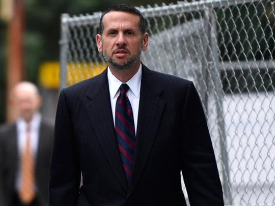 David Wildstein arriving for court in September.