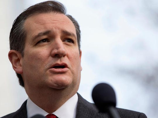 Republican presidential candidate, Sen. Ted Cruz