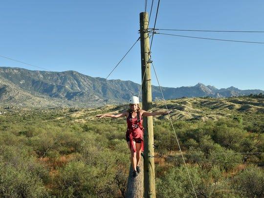 Desert tightrope