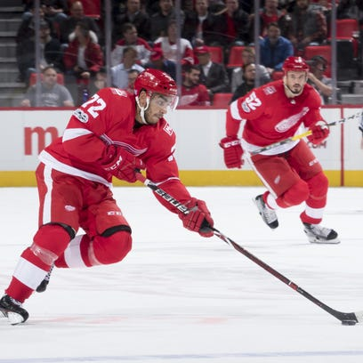 Red Wings' power play plummets during recent slump