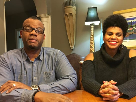 George Braxton and Kelly Harris-Braxton in their Richmond