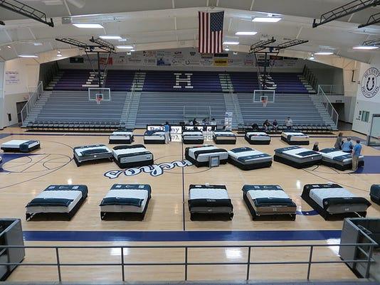 mattress fundraising event