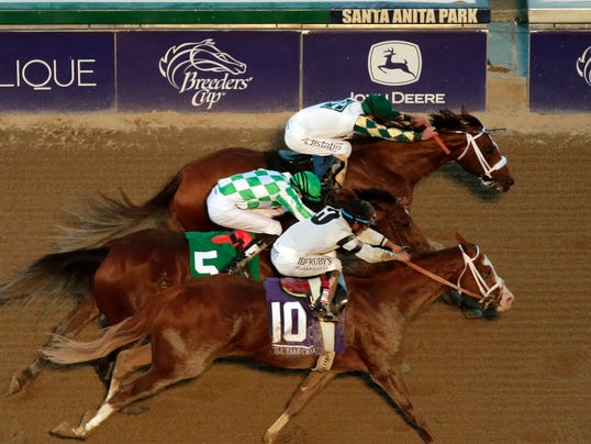 Breeders Cup Classic finish