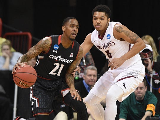 March 18, 2016; Spokane, WA, USA;  Cincinnati Bearcats