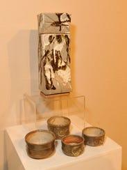 Judas Recendez, a ceramics and mixed media artist,