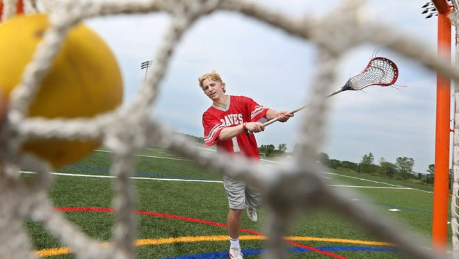 Canandaigua High School senior Devin Andrews is the All-Greater Rochester boys lacrosse Player of the Year.