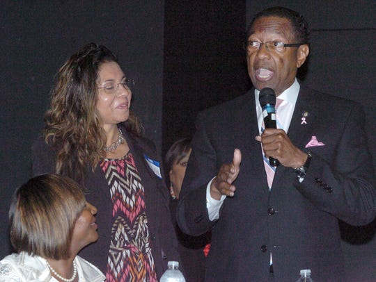 Kip Holden, democratic candidate for Louisiana Lieutenant