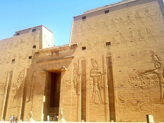 The origin of Aromatherapy can be traced to about 265 BC to ancient Egypt in the Temple of Edfu where incense and unguents (soothing or healing ointments), were blended according to recipes inscribed on the walls of the Laboratory.