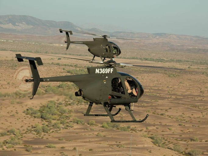 530G Scout Attack Helicopter