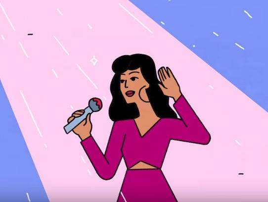 Google premiered the Selena Doodle on Tuesday.