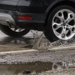 Flooding, potholes will keep Eight Mile Road closed indefinitely