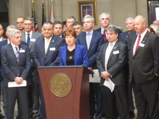 Mayors in Albany
