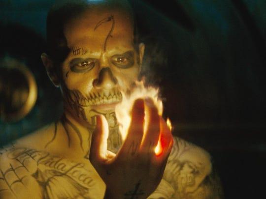 "Jay Hernandez in ""Suicide Squad."""