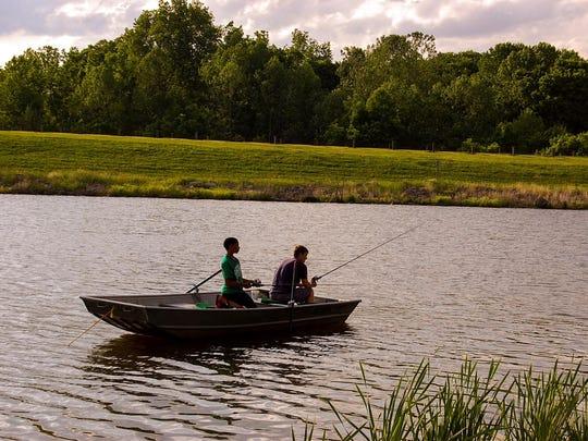 Fishing season begins at Great Parks in Hamilton County.