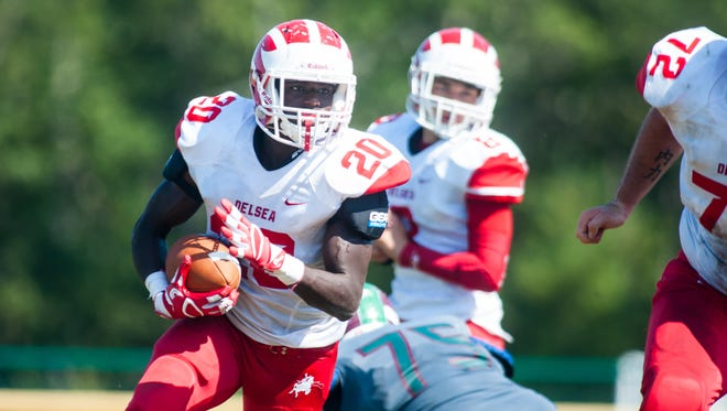 Running back Charles Walker and the rest of his Delsea teammates will look to make it two in a row when Holy Spirit comes to town Friday night for a WJFL interdivision game.